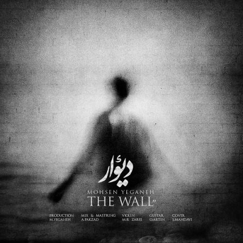 محسن یگانه دیوار